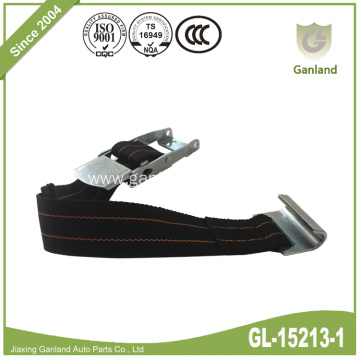 Over-Center Buckle with Bottom Strap Flat Hook Rivet
