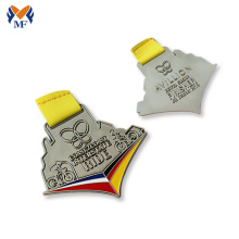 China Gold Supplier for for Running Medal,Custom Running Medals,Running Race Medals Manufacturers and Suppliers in China Design running racing finisher medals supply to Sri Lanka Suppliers