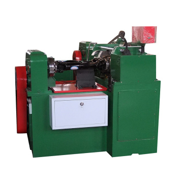 Plate type automatic threading rolling machine