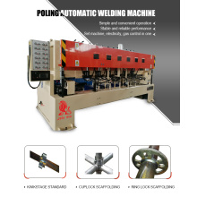 factory low price Used for Standard Starting Pipe Welder Automatic Ringlock Scaffolding Welding Machine supply to Sweden Factory