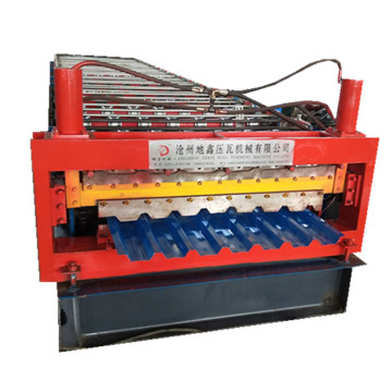 Double layers ibr colored sheet roll forming machine