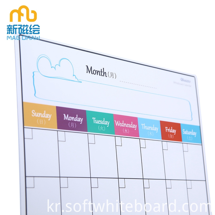 Weekly Meal Planner Board