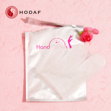 Beauty treatment gloves for hand moisturizing hand mask