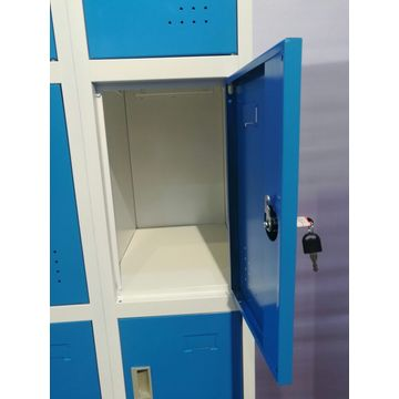 Top sale 6 door steel locker with feet