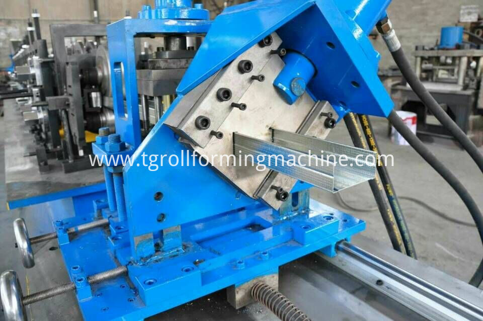 Metal Stud With H Hole Machine
