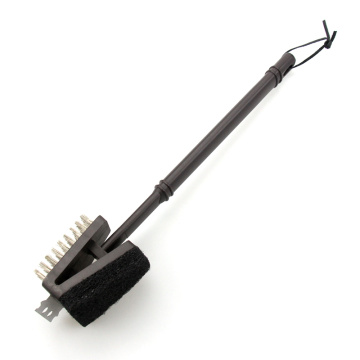 15inch Long Handle BBQ Grill Cleaning Brush
