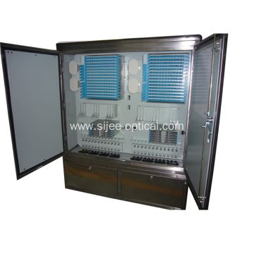 1152 Fibers Outside Fiber Cable Cross Connect Cabinets