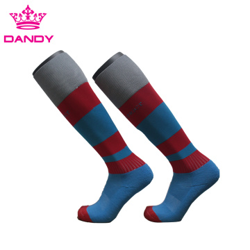 Striped Knee High Socks For Rugby Clubs