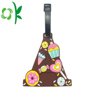 Cartoon Silicone Baggage Luggage Tag Maker