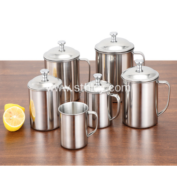 High Quality Stainless Steel Children With Handle Cup