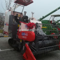 Crawler type rice harvesting machine for Myanmar