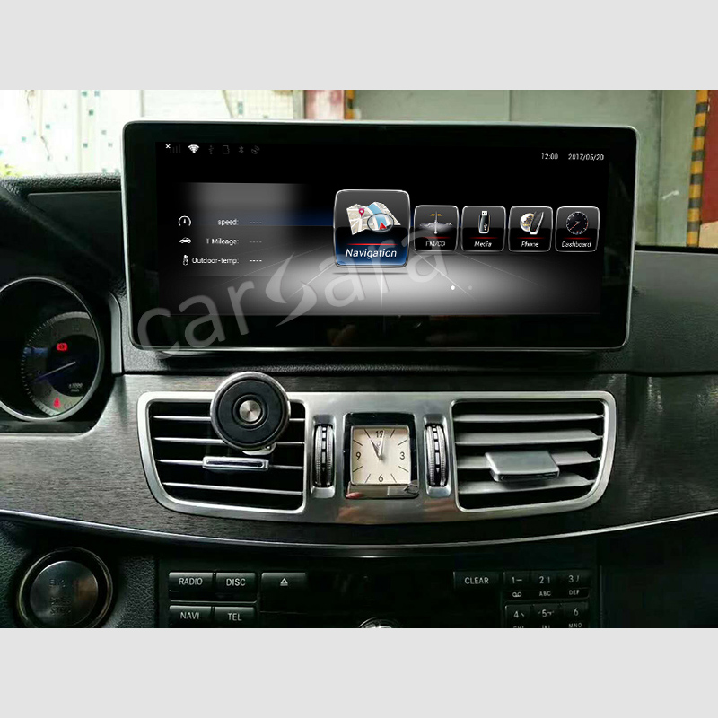 10.25Inch navigation for benz w212