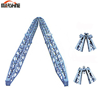 Aluminum Alloy A-Shape Lattice Structure Holding Pole