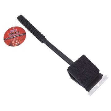 BBQ Grill Brush with antiskid plastic handle