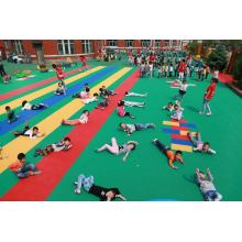 China for Basketball Court Flooring Safe Children Playground Flooring supply to Sweden Manufacturer