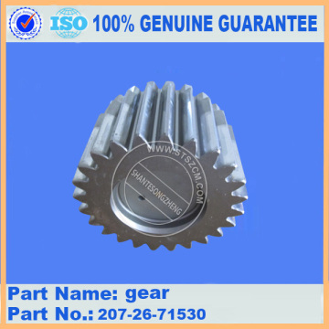 PC300-7 SWING MACHINERY GEAR 207-26-71530