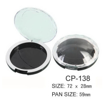 Europe style for Round Compact Case Round Cosmetic Compact CP-138 export to Turks and Caicos Islands Manufacturer