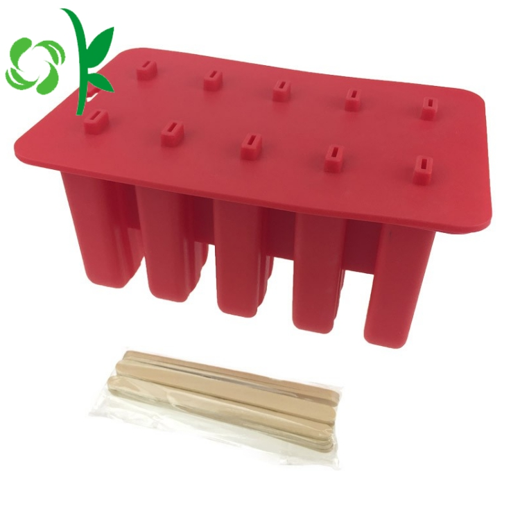 Silicone Ice Cube Trays With Lids