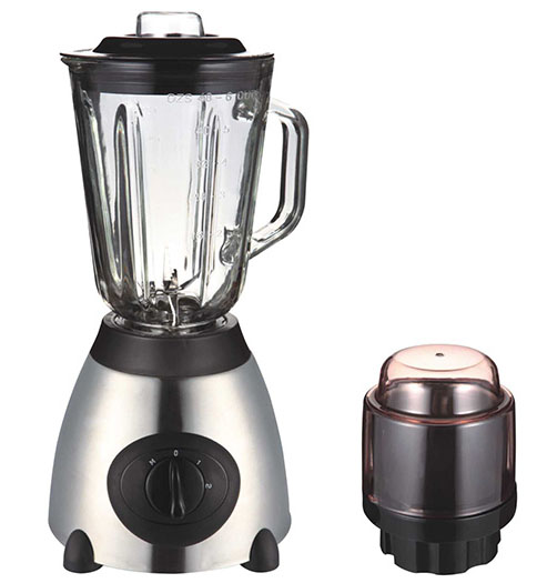Glass jar food blenders