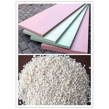 Flame retardant masterbatch for extruded polystyrene product