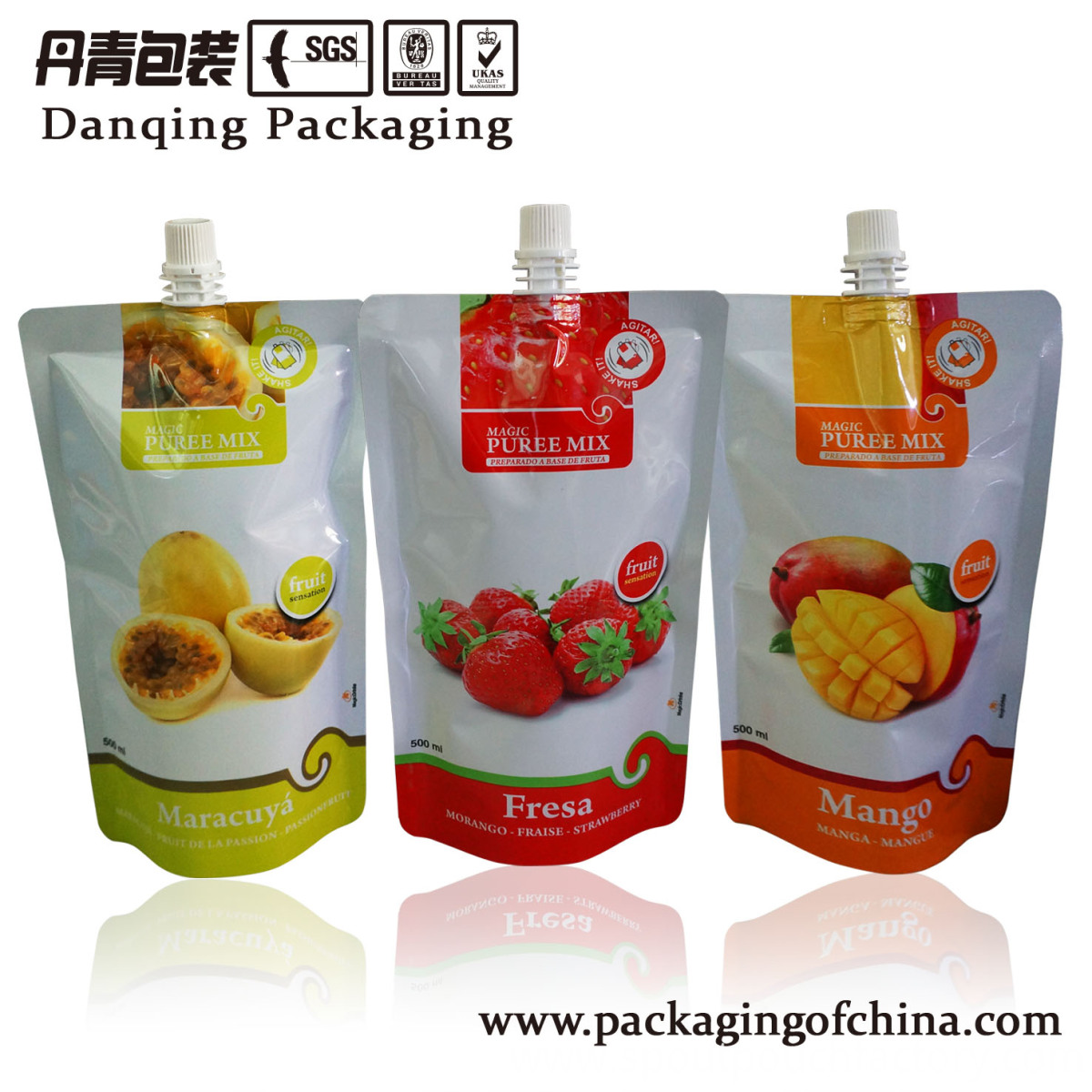 500ml doypack filling machine