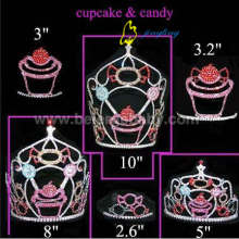 Cupcake Candy Party Crown Pageant Tiara