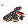 DB9 female to electrode needle cable