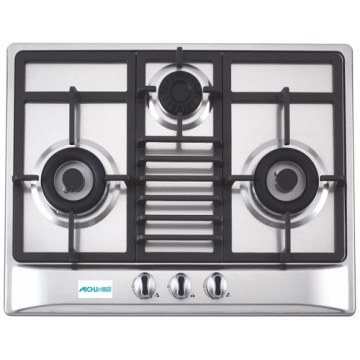 Elica SS Built-in Hob Gas Stove