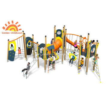 HPL Outdoor Plastic Multiply Structure For Kids