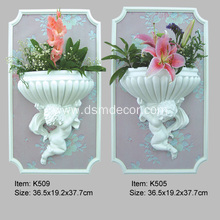 Factory directly sale for Decorative Elements Angel PU Wall Ornaments supply to France Importers