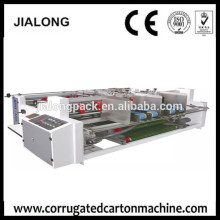 semi automatic two pieces folder gluer machine
