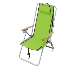 Outdoor 4 different reclining positions Steel Backpack Chair