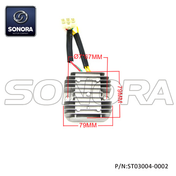 BENZHOU Spare Part Rectifier 6 pin (P/N:ST03004-0002) Top Quality