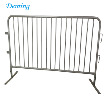 Removable Construction Site Metal Crowd Control Trafffic Barrier