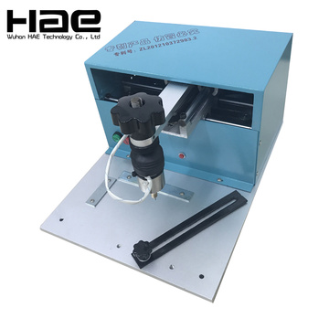 Electric Dot Peen Dog Tag Engraving Machine