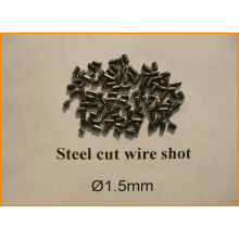 Special for China Manufacturer of Steel Cut Wire Shot,Stainless Steel Cut Wire Shot,Blasting Steel Cut Wire Shot,Abrasive Grain Steel Cut Wire Shot 1.5mm Steel Cut Wire Shot for shot blasting supply to Algeria Factory