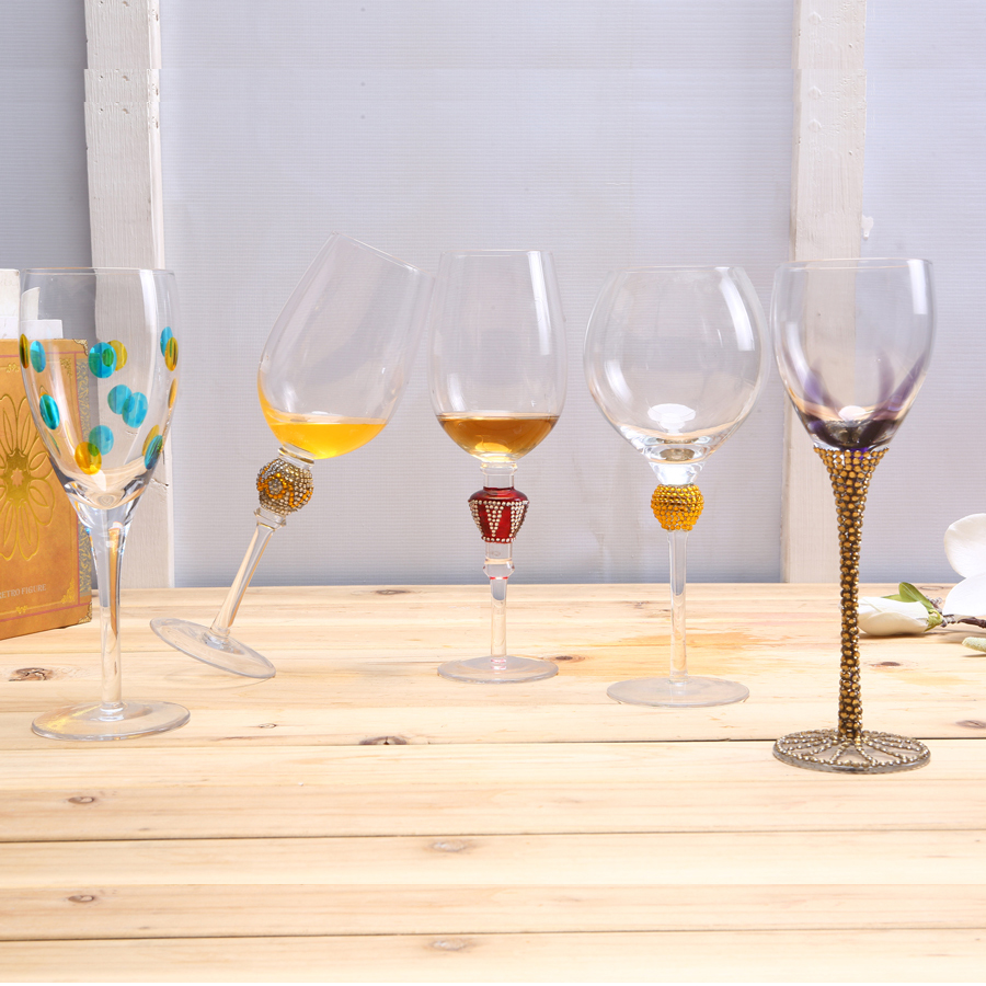 Br 9119 23wholesale Novelty Unique Personalized Goblet Wine Glasses