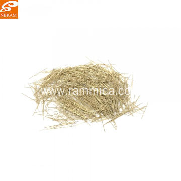 0.2x20mm Copper Plated Steel Micro Fibers