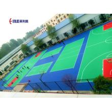 Plastic Interlocking Basketball Court Tiles