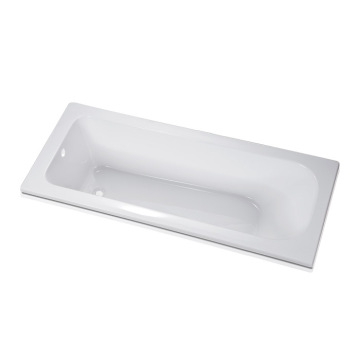 Long Acrylic Soaking Drop in Rectangular Tub