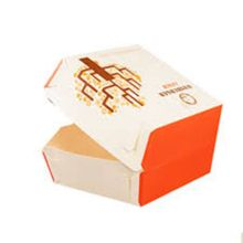 Fast food take away lunch box packaging
