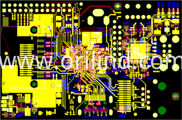Printed circuit board layout