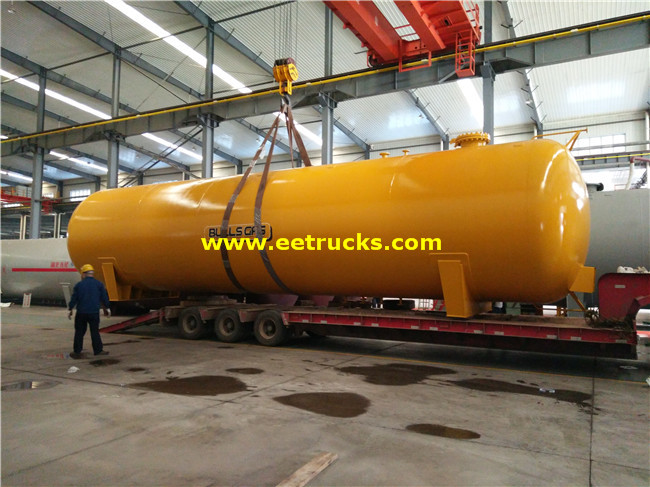 100m3 BV Certification LPG Pressure Tanks