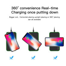 Wireless Charger Ultra-Slim Pad Compatible