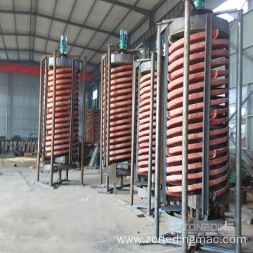 High Efficient Mining Factory  Spiral Chute Separator