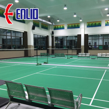 Enlio badminton flooring approved by BWF