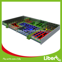 CE approvide indoor trampoline park  for kids birthday parties