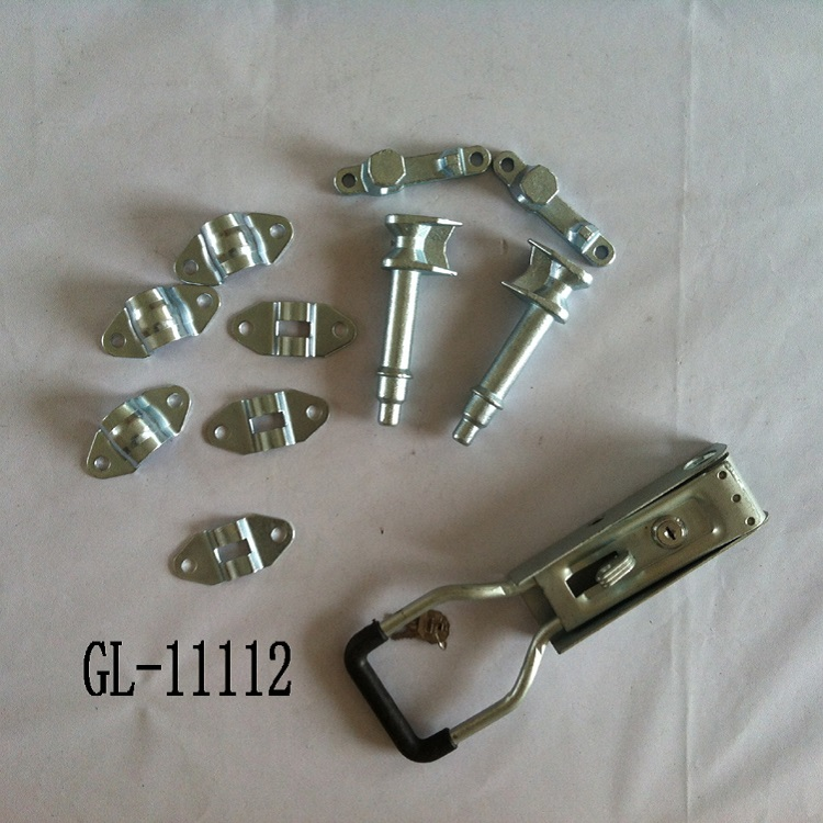 Galvanized Steel Key Door Locks