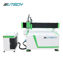 wood aluminum machine router CCD machine