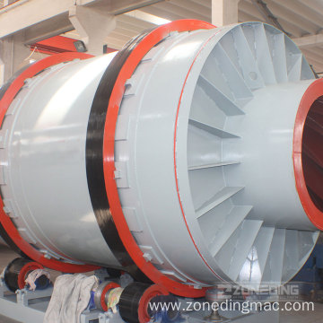 25-30t/h Quartz Sand Rotary Dryer